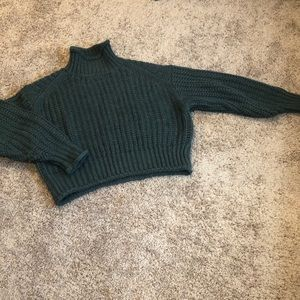 Knit mock neck- Medium